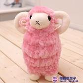 小羊玩偶羊駝毛絨玩具娃娃仿真小綿羊可愛公仔【櫻桃菜菜子】