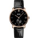 MIDO 美度 Baroncelli 永恆系列小秒針限量手上鍊腕錶 M0374053605000