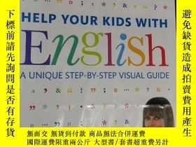 二手書博民逛書店DK罕見HELP YOUR KIDS WITH ENGLISH A UNIQUE STEP-BY-STEP VIS