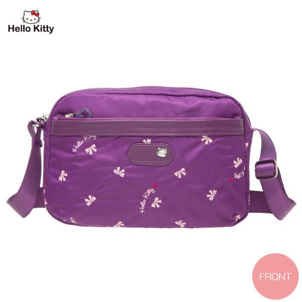 Hello Kitty -  圓舞曲-小側背包(紫色)