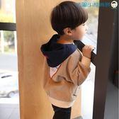 【618好康又一發】男童春裝外套燈芯絨兒童夾克上衣