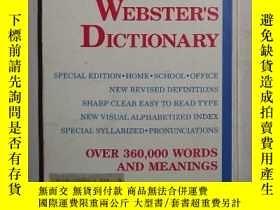 二手書博民逛書店英文原版罕見New Expanded Webster s Di