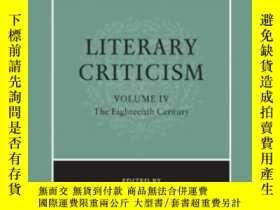 二手書博民逛書店The罕見Cambridge History Of Literary Criticism, Vol. 4Y25