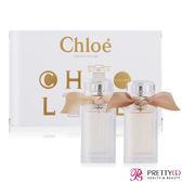 Chloe Les Mini Chloe小小雙氛圓舞曲禮盒[經典同名20ml+玫瑰之心20ml][情人節禮物]【美麗購】