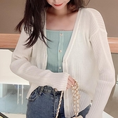 帛卡琪2020新款春韓版寬鬆空調衫開衫外套上衣防曬衫薄款針織衫女 酷男精品館