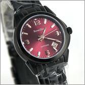 【萬年鐘錶】 Roven Dino 羅梵迪諾 楊丞琳代言 全黑紅女錶 RD632B