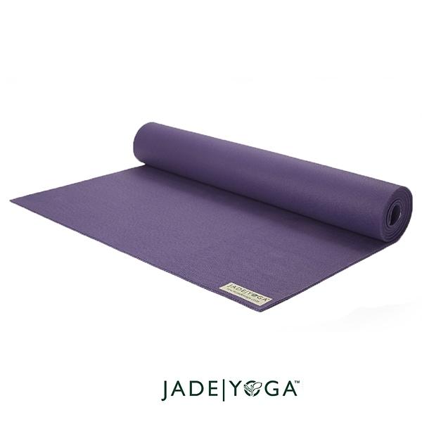 Jade yoga 天然橡膠瑜珈墊 Travel Mat 173cm - 深紫色 Purple
