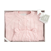 【美國Elegant Baby】彌月禮盒 - 針織外套+嬰兒帽 #99827