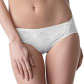 LADY 安布羅莎系列 機能調整型 中腰三角褲(暮光白)