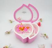 音樂盒 音樂盒八音盒女生歐式會發光跳舞旋轉芭蕾舞女孩兒童公主生日禮品     汪喵百貨