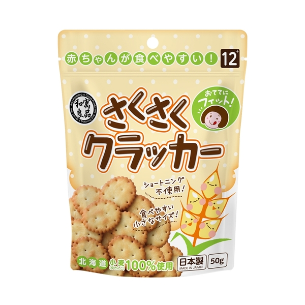 日本和寓良品 北海道小麥小圓餅(12M)
