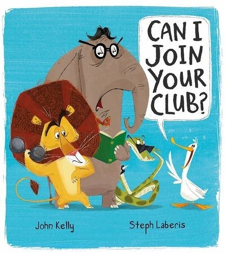 【麥克書店】CAN I JOIN YOUR CLUB? / 平裝繪本《主題: 友誼 Friendship.自我認同》
