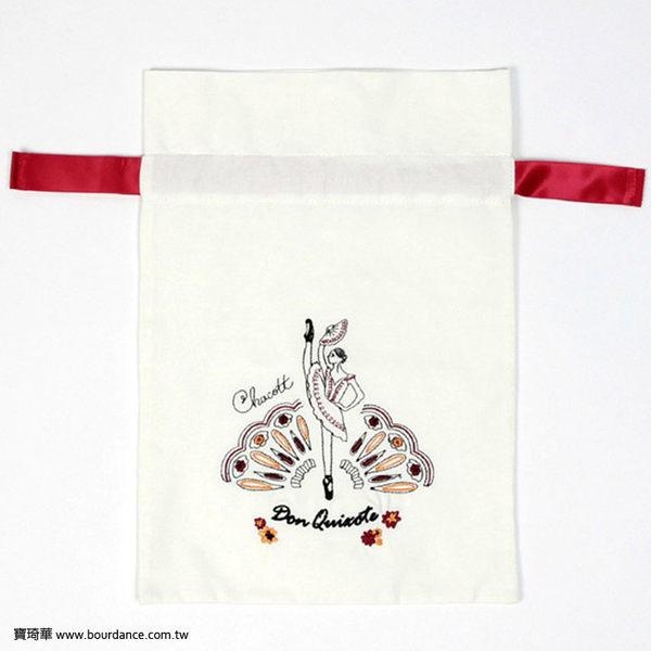 *╮寶琦華Bourdance╭*日本CHACOTT進口商品☆唐吉軻德刺繡束口袋【CH2016072707】