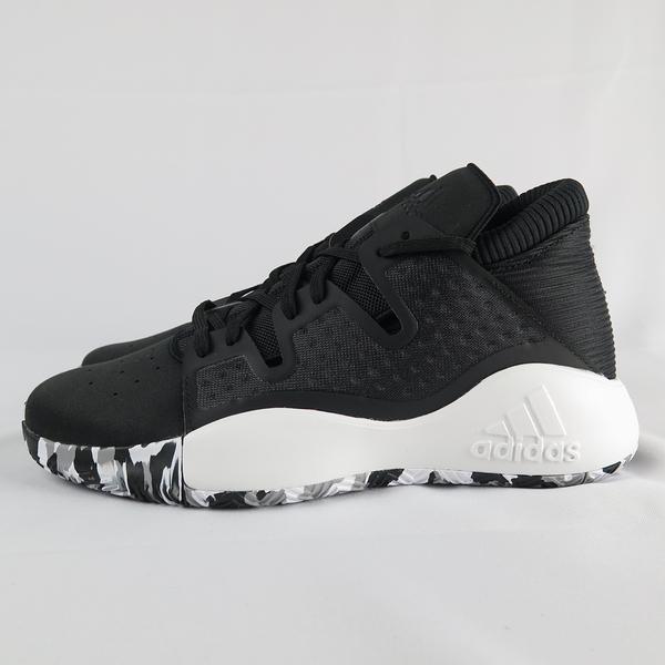 【iSport愛運動】 adidas PRO VISION 籃球鞋 正貨 EF0478 男款 黑 大尺碼
