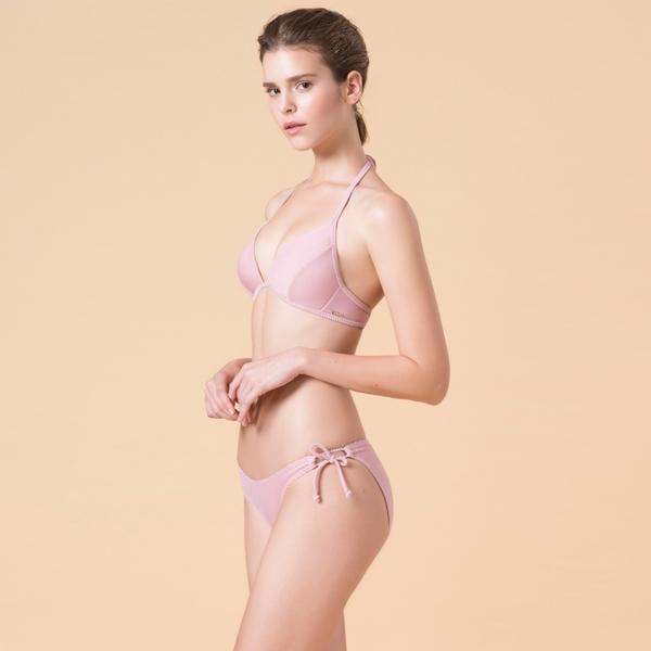 LeRêveParis |AIRise 法式空氣美型比基尼泳衣|-芭蕾粉