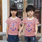 夏季新款韓版女童裝寶寶小孩上衣體恤潮