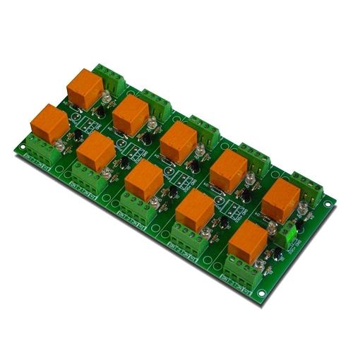 [2美國直購] denkovi 繼電器模組 10 Channel relay board for your Arduino or Raspberry PI 12V