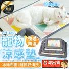 現貨!寵物涼感床 S款 涼感寵物床 寵物冰墊 寵物床 寵物冰絲床 寵物涼墊 狗窩 貓窩#捕夢網
