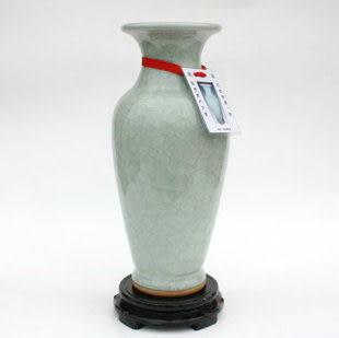 鈞瓷窯變花瓶歲歲平安(大)
