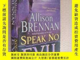 二手書博民逛書店Speak罕見No Evil: A NovelY146810 A