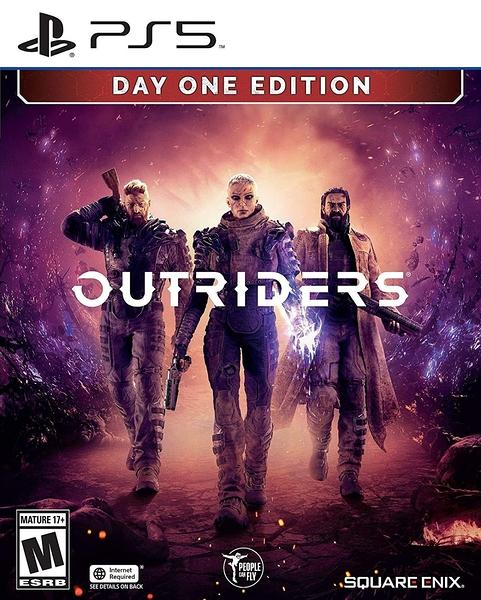 PS5 先遣戰士 Outriders 中文版【預購2021/2/2】