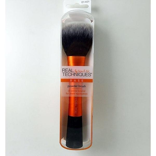 【愛來客 】英國Real Techniques POWDER BRUSH 1401# 大號散粉刷蜜粉刷化妝刷