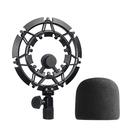 [9美國直購] Blue Yeti Shock 話筒 Mount with Foam Windscreen, Alloy Shockmount Reduces Vibration Microphone by YOUSHARES