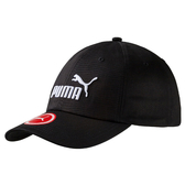 Puma 黑色 帽子 運動帽 老帽 遮陽帽 六分割帽 經典棒球帽 運動帽 05291909