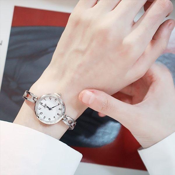 現貨-別樣ins韓版簡約百搭文藝氣質淑女手錶女學生休閒大氣時尚手鍊錶W19