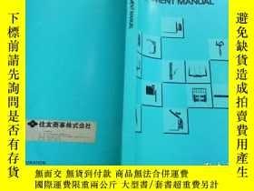 二手書博民逛書店TOYOTA罕見ATTACHMENT MANUALY223356