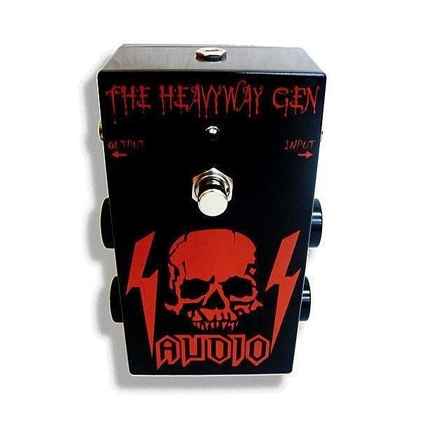 唐尼樂器︵台灣原創設計 SSAUDIO THE HEAVYWAY GEN 單顆電吉他多段破音綜合效果器
