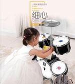 架子鼓3-6歲初學者樂器男孩女孩大號敲打鼓早教益智兒童 熊熊物語
