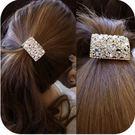 ►全區49折►韓版水鑽鏤空髮飾頭飾髮繩髮圈【B5084】