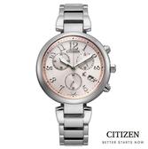 CITIZEN 星辰 光動能時尚三眼計時手錶 (FB1450-53W) 廣告款/35mm