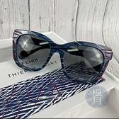BRAND楓月 FENDI 芬迪 FF 0180/S 紅藍線條墨鏡 方框 膠框 黑鏡片 漸層 太陽眼鏡 中性 男女兩用