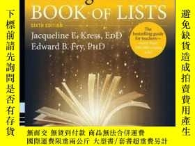 二手書博民逛書店The罕見Reading Teacher s Book of Lists, 6th EditionY41001