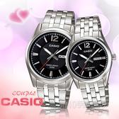 CASIO手錶專賣店 MTP-1335D-1AVDF+LTP-1335D-1A 簡約時尚指針情人對錶 防水50米