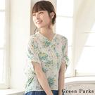 ■Chocol Raffin■  質地輕盈的花卉襯衫 碎花增添了知性女孩感 打造優雅氛圍