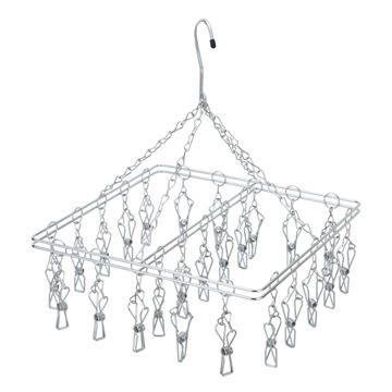 【HOME WORKING】方型不鏽鋼吊架 / 25夾