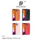 【愛瘋潮】DUX DUCIS Apple iPhone 11 Pro 5.8 YOLO 金邊皮背殼 有吊飾孔