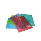 《享亮商城》OM-FA4HA32 紅色 A4加厚繞繩直式公文袋