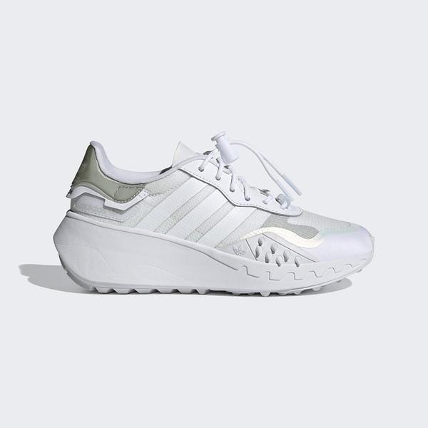 Adidas Choigo W [FY6499] 女鞋 運動 休閒 復古 經典 機能性 加高底 舒適 白