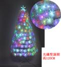 120CM4呎/4尺LED光纖閃爍聖誕樹-白 聖誕節舞會聖誕襪聖誕帽聖誕燈聖誕金球聖誕服聖誕蝴蝶結聖誕花