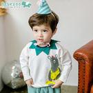[Bebezoo]韓國童裝可愛卡通童T恤純棉舒適童上衣韓版外出服