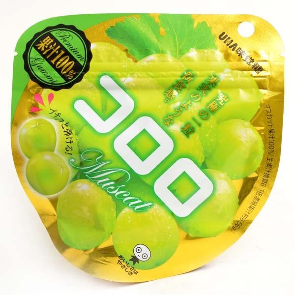 日本【味覺糖】酷露露Q糖(白葡萄味) 40g