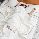 可水洗真絲夏被冰絲空調被夏涼被床單三四件套夏季薄被子被芯夏天 夏日新品