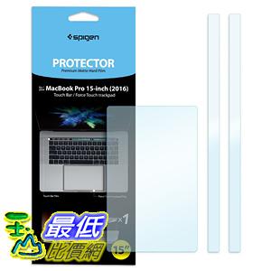 [美國直購] Spigen MacBook Pro 15吋 保護貼 Touch bar / TrackPad Protector with Matte Film for MacBook Pro
