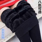 高腰秋褲女內穿純棉加絨線褲緊身學生美體襯褲女士全棉單件保暖褲