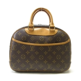LOUIS VUITTON LV 路易威登 原花手提包 小珍包 Trouville M42228 【BRAND OFF】