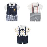 嬰兒短袖連身衣 春夏兔裝 寶寶童裝 棉質嬰兒服 LW2532 好娃娃